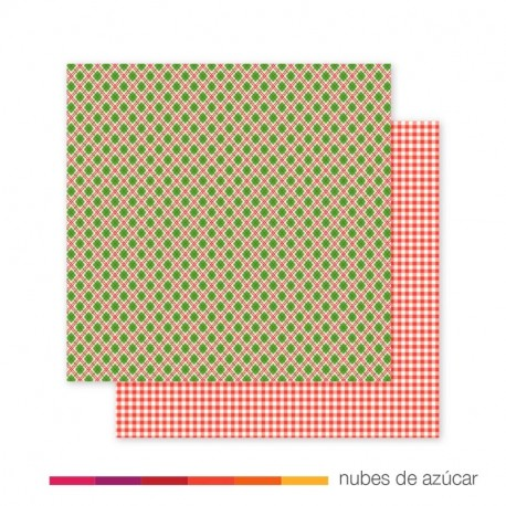 Papel doble cara 733168 christmas plaid