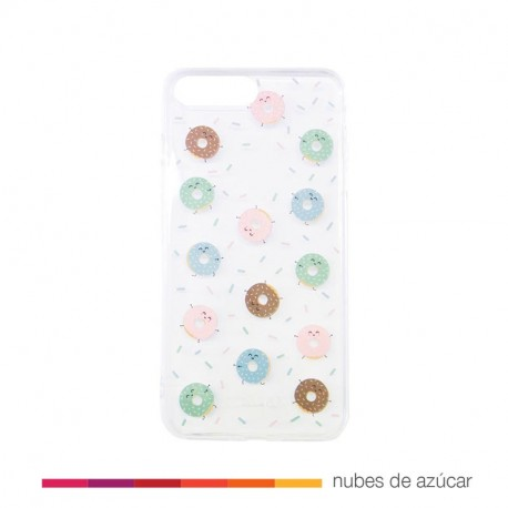 Carcasa iphone 7 plus mini rosquillas
