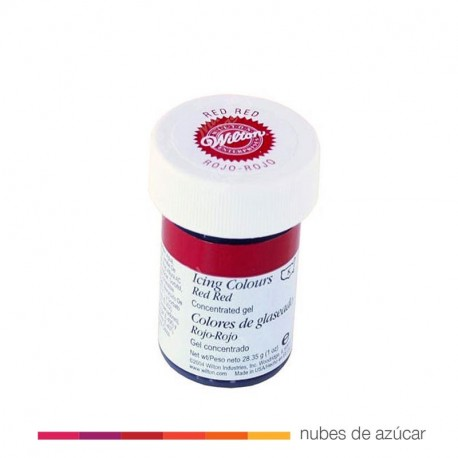 Wilton Colorante en gel rojo