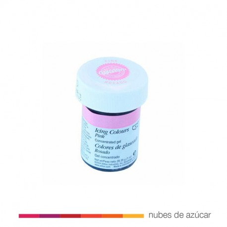 Wilton Colorante Rosa