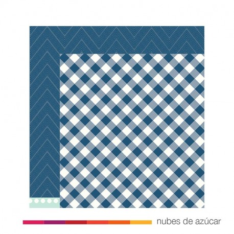 Papel doble cara 732917 Buffalo check
