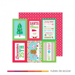 Papel doble cara 4845 all wrapped up
