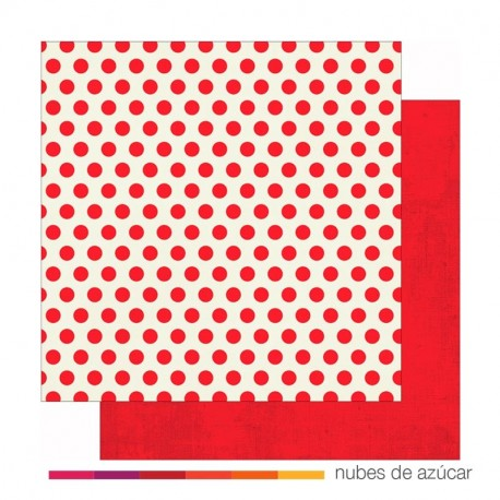 Papel doble cara 4816 Red dots