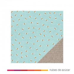 Papel doble cara 732802 Busy bees