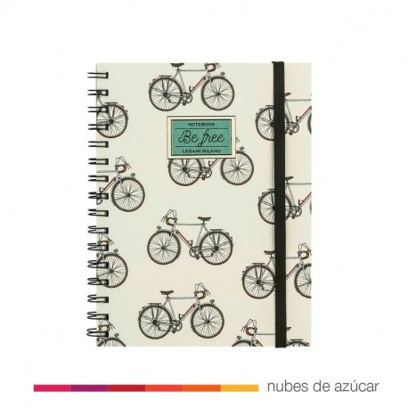 Notebook be free 21x16