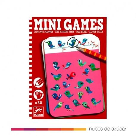 Mini Games El que falta