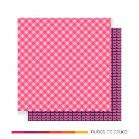 Papel doble cara 733057 Pink picnic