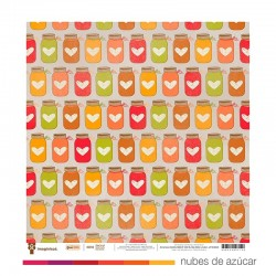 Papel doble cara 400714 Happy Harvest