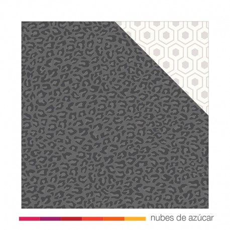 Papel doble cara 732918 Leopard