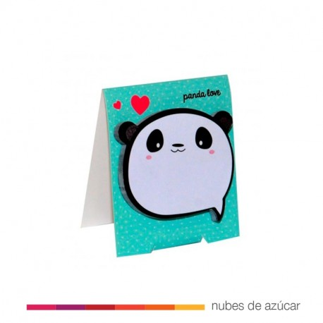 Happy notes panda