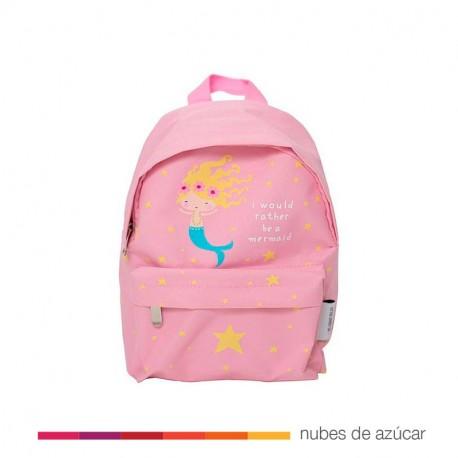 Mini mochila infantil Sirena