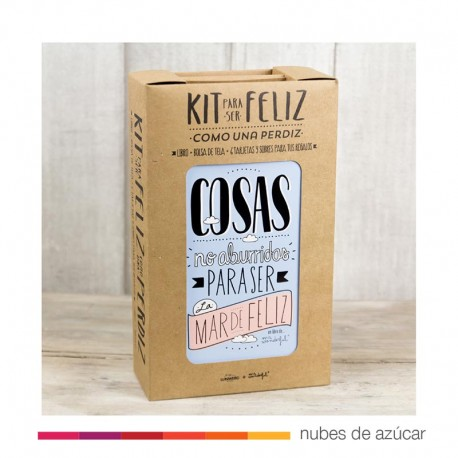 Kit para ser feliz como una perdiz Mr Wonderful