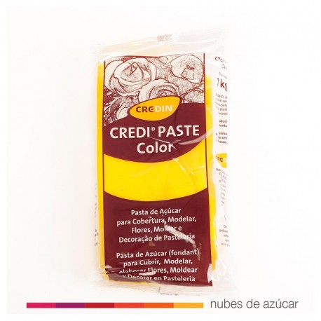 Fondant Credipaste amarillo 1kg