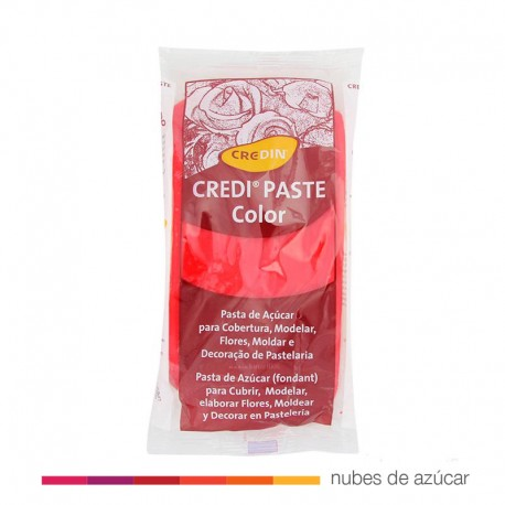 Fondant Credipaste rojo 1kg