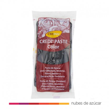 Fondant Credipaste negro 1kg