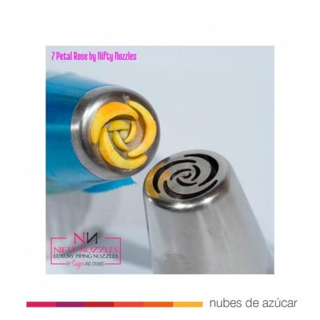 Boquilla Rusa Rosa de 7 pétalos (NN14)