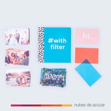 Álbum de fotos con filtros