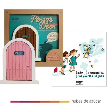 Puerta Ratón Pérez Rosa