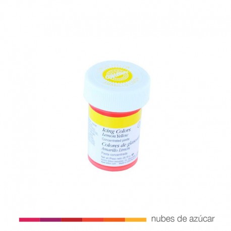 Wilton Colorante en Gel Amarillo Limón