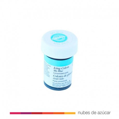 Wilton Colorante en Gel Azul Cielo 28 gr