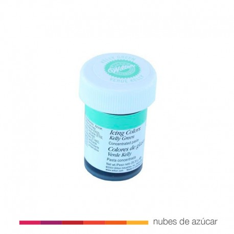 Wilton Colorante en Gel Verde Kelly 28 gr