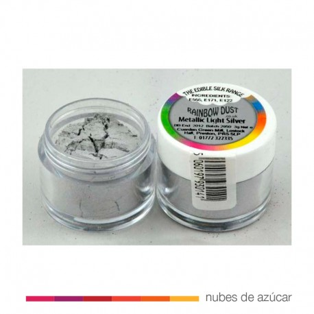 Colorante en polvo RD Metallic light Silver