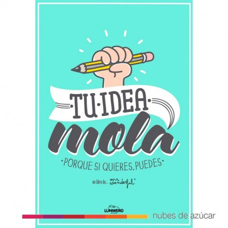 Libro mr wonderful tu idea mola