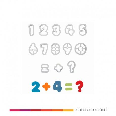 Set de cortadores de Números. 13 pzs
