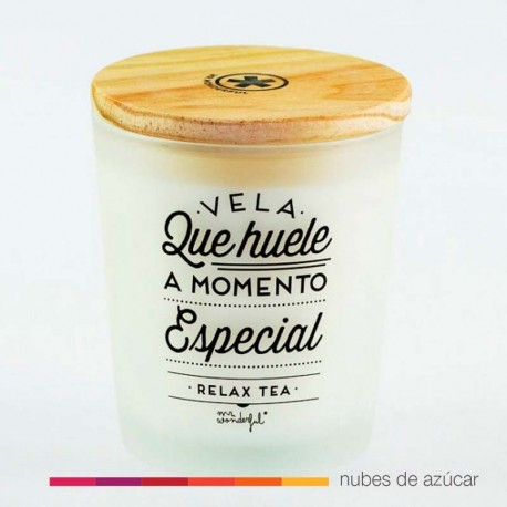 Vela que huele a momento especial Mr Wonderful