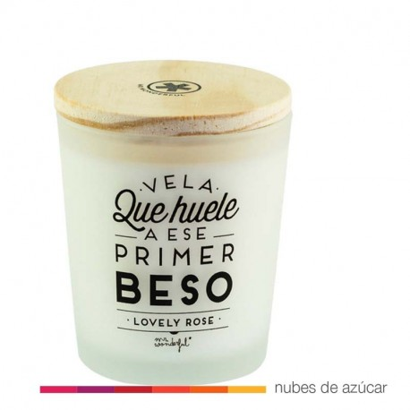 Vela que huele a primer beso Mr Wonderful