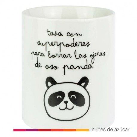 Taza Ojeras de Oso Panda Mr Wonderful