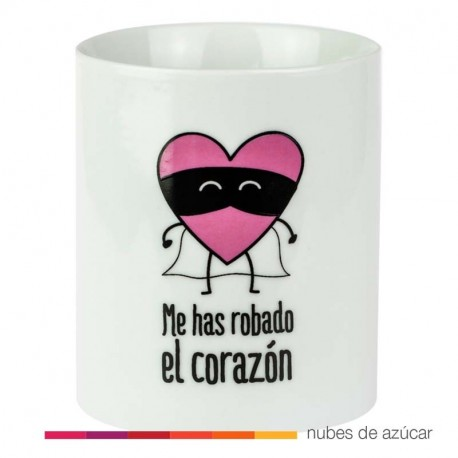 Taza Me has robado el corazón Mr Wonderful