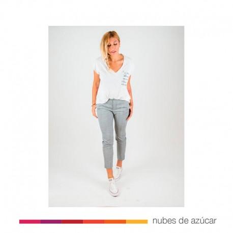 Camiseta Chica Camiseta Básica Blanca T.XS