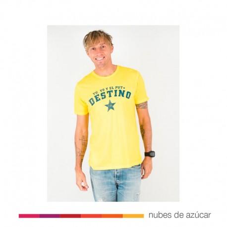 Camiseta Unisex Puto Destino aire retro