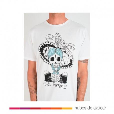 Camiseta Unisex Suerte Muerte aire retro
