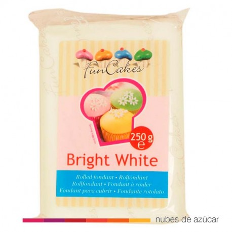 Fondant blanco funcakes vainilla 250 gr fc97050