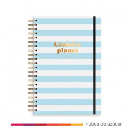 Planificador Semanal + Notas Azul de Charuca