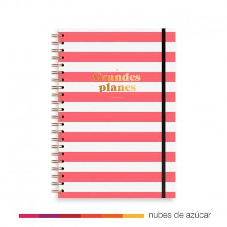 Planificador Mensual Rojo de Charuca