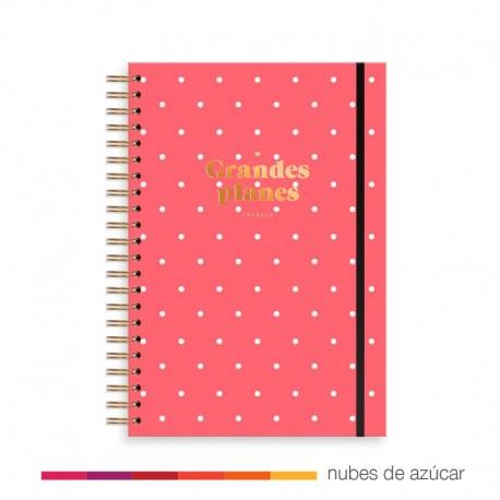 Planificador Semanal + Notas Rojo de Charuca