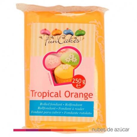 Fondant Funcakes Naranja Tropical 250 gr fc97550