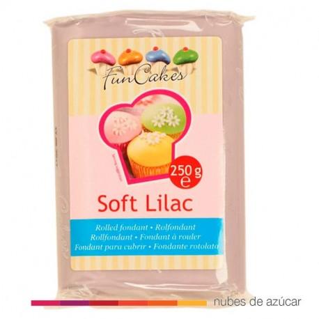 Fondant Funcakes Lila Suave 250gr fc97400