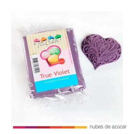 Fondant funcakes true violet fc97975