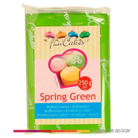 Fondant Funcakes Verde  250 gr fc97300