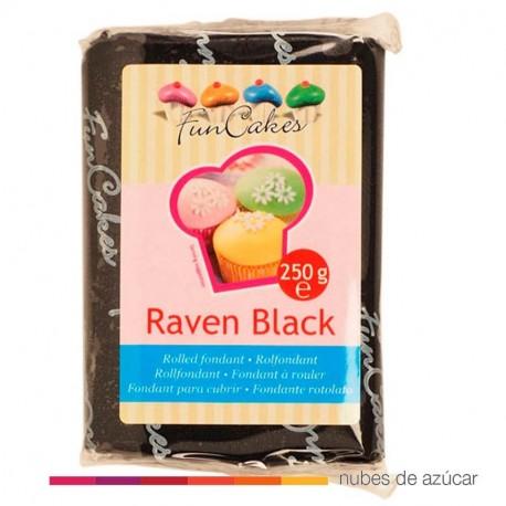 Fondant  Funcakes Negro 250 gr fc97500