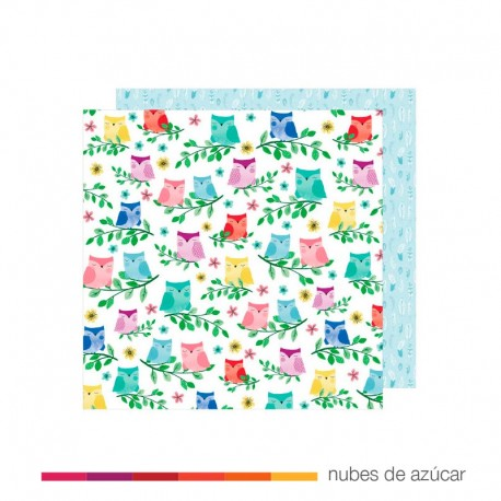 Papel para decorar Birds of a Feather