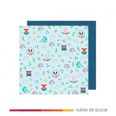 Papel para decorar Forest Friends 30x30