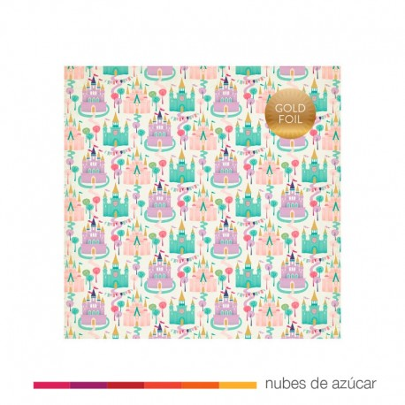 Papel para decorar Dream Castles 30x30