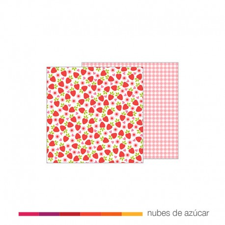 Papel para decorar Fresh Strawberries 30x30