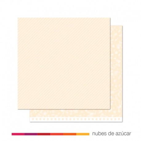 Papel para decorar Snowflake twist 30x30