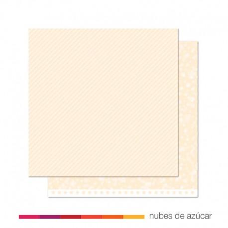 Papel para decorar Snowflake twist 30x30